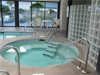 Hot tub at Pelican Pointe