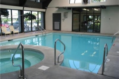Indoor pool at Pelican Pointe